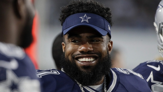 Dallas Cowboys running back Ezekiel Elliott