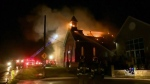 Burlington church fire