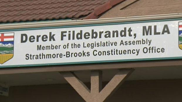 Derek Fildebrandt office