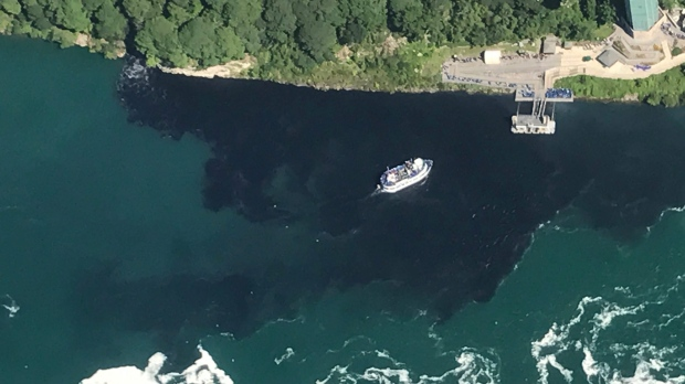 U.S. board cited for another sewage discharge at Niagara Falls  68964b7b7