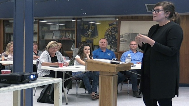 The Timmins Chamber of Commerce held a workshop on Wednesday to discuss marijuana in the workplace.