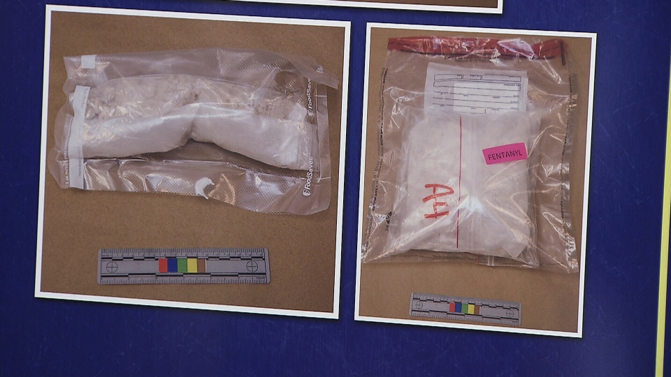 Drugs seized as part of Project Tariff are seen in these police images.