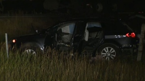 Three children, aged 16, 11 and 11 months were killed when the SUV they were in crashed on a highway near Hanna, Alberta.
