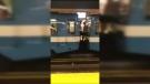Montreal metro stunt