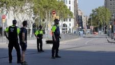 Barcelona vehicle ramming