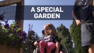 Dad builds daughter beautiful accessible garden