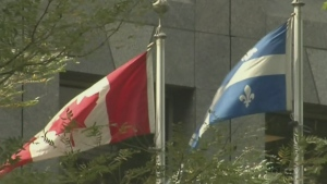 canada flag, quebec flag