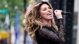 Shania Twain performs on NBC's Today show at Rockefeller Plaza in New York on June 16, 2017. (THE CANADIAN PRESS/AP, Invision - Charles Sykes)