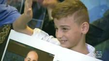 Yazidi boy captured by ISIS Reunited with family