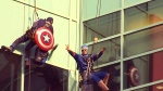CTV Calgary: Superheroes scrubbing windows