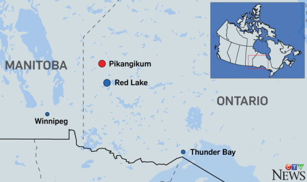 Ottawa to spend $60M connecting Pikangikum First Nation to