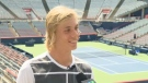 Tennis player Denis Shapovalov