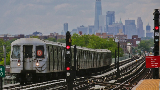 Woman Baby Narrowly Survive Being Run Over By Nyc Subway Train
