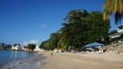 FILE -- This January 2015 photo shows a beach in Speightstown, Barbados. (AP Photo/Kavitha Surana)