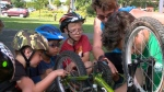 Ottawa 'Pedalheads' learning to cycle safely