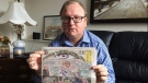 Barrie resident Michael Werenich is angry and disturbed over a controversial newspaper that was delivered to his home (CTV Barrie)