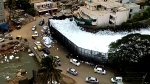 Toxic foam covers two lakes in India