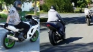 Police are askinhg for the public's help in identifying these two motorcyclists. (Nova Scotia RCMP)