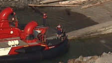 rescue in howe sound