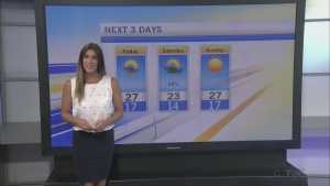 CTV Morning Live Weather August 18