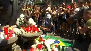 Memorial for Barcelona attack victims