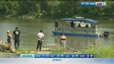 River search, suspect wanted: Morning Live