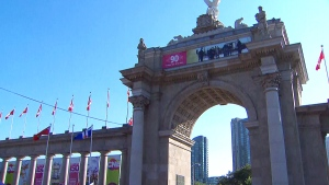 LIVE3: CNE opening ceremonies in Toronto