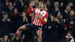 In this Thursday, Nov. 3, 2016 file photo, Southampton's Virgil van Dijk celebrates scoring during the Europa League group K stage soccer match between Southampton and Internazionale at St. Mary's Stadium in Southampton, England.  (AP Photo / Matt Dunham)