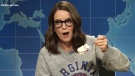 Tina Fey appears on 'Weekend Update: Summer Edition' on Aug. 17, 2017. (Saturday Night Live)