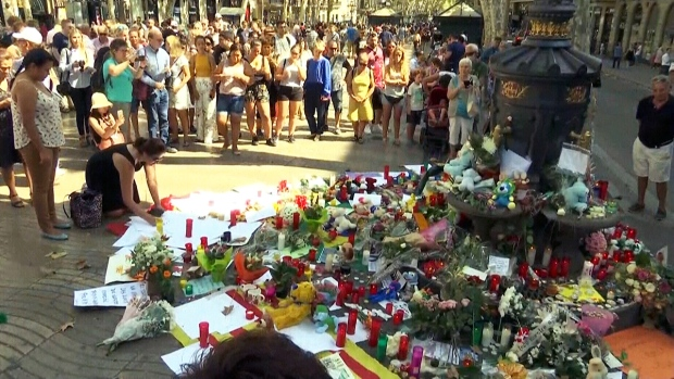 LIVE4: Memorial for Barcelona attack victims