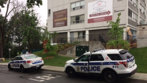 Officers responded to a disturbance call on Range Road where an elderly woman was found dead around 5:30 a.m. on Friday, Aug. 18, 2017. (Jim O'Grady/CTV Ottawa)