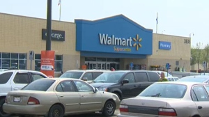 Duran Ross Buffalo, 32, of no fixed address, has been charged in connection with a gun incident at a northeast Calgary Walmart.