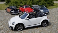 VW Beetle cabriolets from 1950 to the present day (Volkswagen)