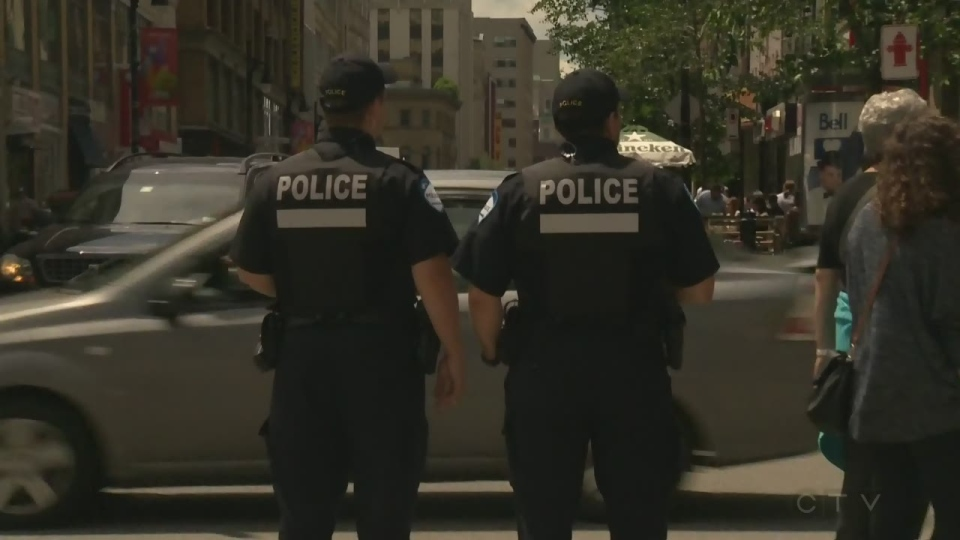 Montreal police have been patrolling festivals throughout Montreal this summer