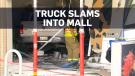 Truck in mall