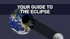 Mapping the solar eclipse path across Canada