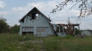 Police investigating suspicious fire and death of a toddler at this Six Nations home. (Aug. 15, 2017)