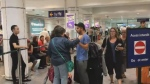 Tearful reunions as travellers return from Spain