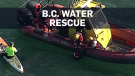 Family plucked from water in B.C.'s Howe Sound