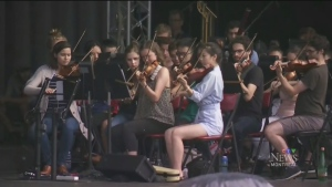 CTV Montreal: 375th concert