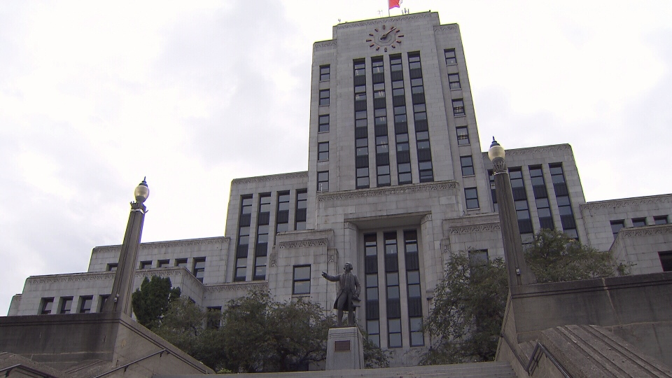 Vancouver City Hall is seen in this undated image.