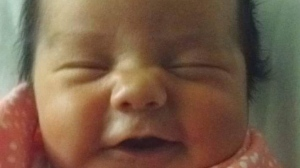 Newborn baby Catherine Corrine Shannon Lavallee has been diagnosed with a rare and fatal heart condition. Her family is hoping for a miracle, but also preparing to say goodbye. (photo supplied)