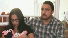 Baby's fatal heart condition leaves family reeling