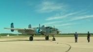 Second World War bomber lands in Prince Albert