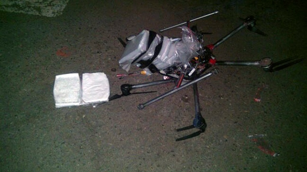 Meth drones