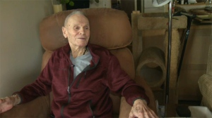 A 93-year-old veteran in Nanaimo alleges his caregiver has been stealing cash from his wallet right under his nose. Aug. 18, 2017. (CTV Vancouver Island)
