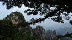 This photo taken on June 15, 2014 shows granite rock formations at the Huangshan (Yellow Mountains) park in Anhui Province. (Mark Ralston / AFP)
