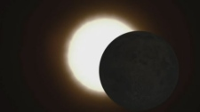 While millions of Americans will be treated to a total solar eclipse, Montrealers will have to content themselves with only 58 per cent of the sun being blotted out on Monday.