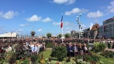 75 Anniversary of Dieppe (Daniele Hamamdjian/Twitter)
