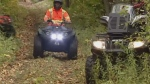 A 15-year-old girl was airlifted to hospital in Halifax with serious injuries after an ATV accident